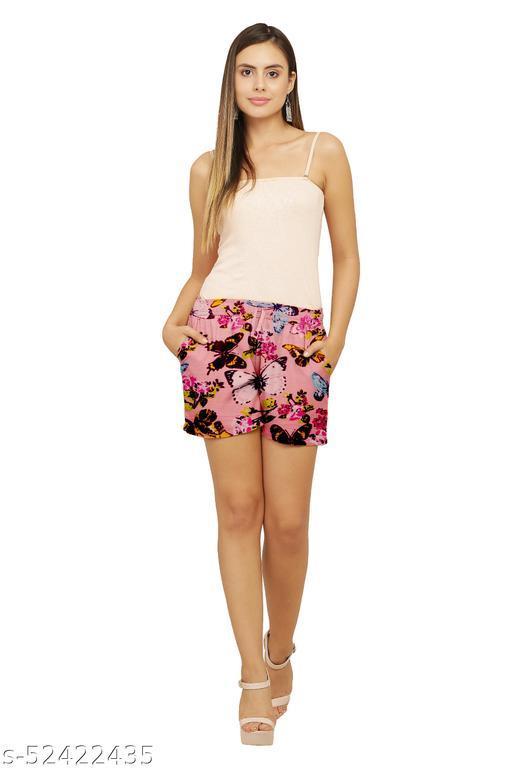 Casual Feminine Women Shorts