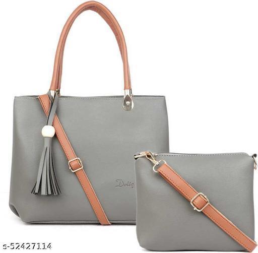 Trendy Fancy Women Handbags Set