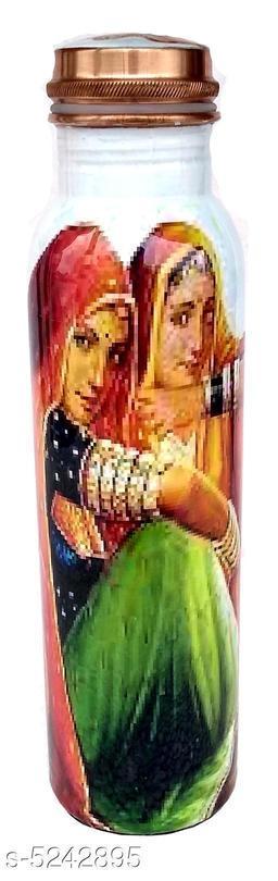 Stylish Copper Water Bottle