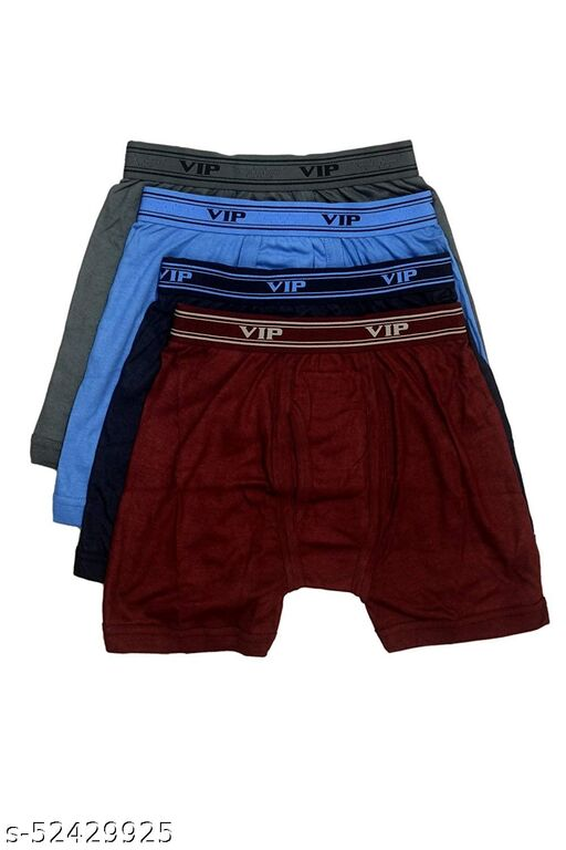 VIP ULTIMA MENS COTTON TRUNK PACK OF 4