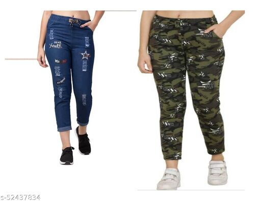 Fashionable Trendy Women Jeggings