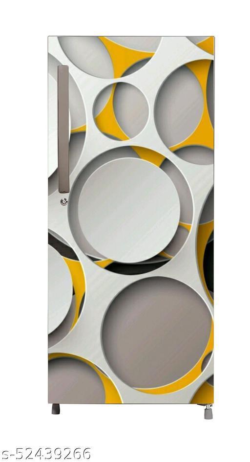 Digital fridge sticker  wallpaper poster Adhesive Vinyl sticker fridge wrap decorative sticker (pvc vinyl covering area 60cm X 160cm )FG0390