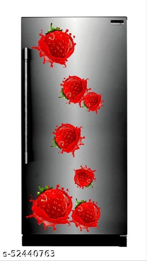 Cherry   wallpaper poster Adhesive Vinyl sticker fridge wrap decorative sticker (pvc vinyl covering area 60cm X 160cm )FG0407