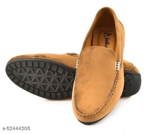 LeeRooy Loafer For Men Casual Cream