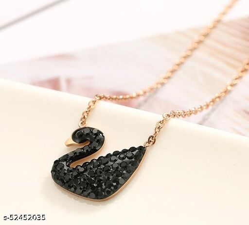 Twinkling Bejeweled Women Necklaces & Chains