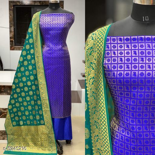 Attractive Banarasi Jacqurd Nylon Suits And Dress Material