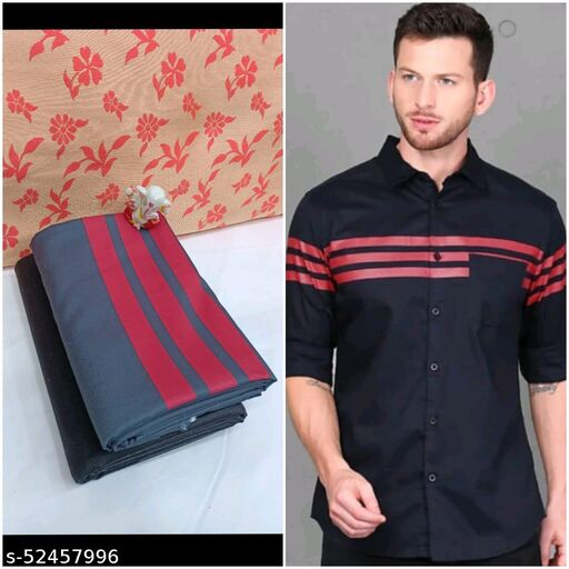 Trendy Partywear Men Shirt Fabric