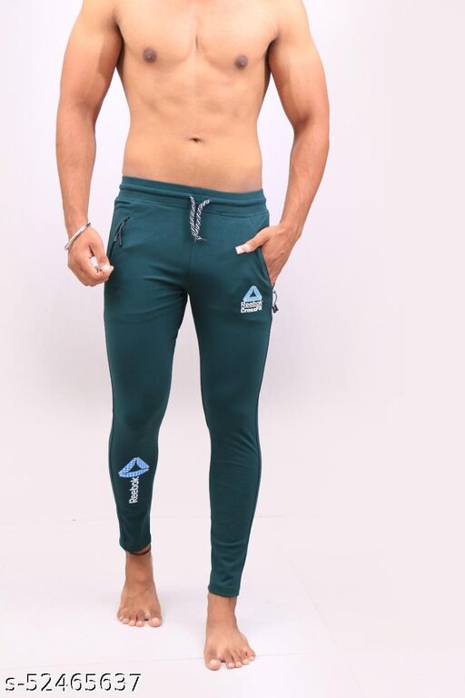 Unique Green Men's Track Pant