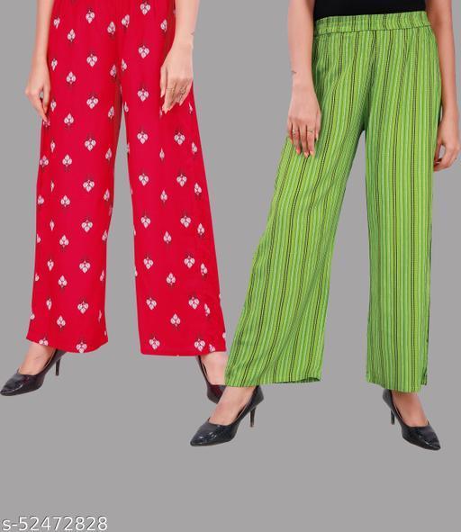 Fashionable Glamarous Women Palazzos