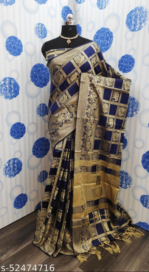 Fancy Jacquard Saree