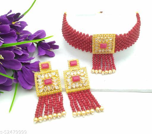 Shimmering Chunky Women jewellery set