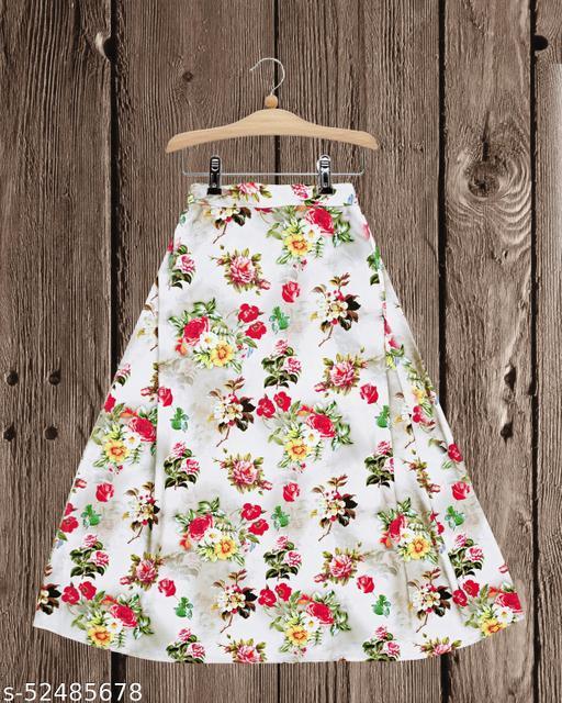 Flawsome Elegant Kids Girls Skirts