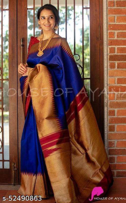 SOFT Kanjiwaram SILK WITH DESIGN BEAUTIFUL RICH PALLU & BEAUTIFUL  FIGURE JACQUARD WORK  KANJIWARAM WEAVING ON ALL OVER THE SAREE