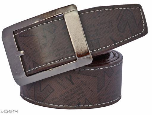 Modern Fancy Men's Belt