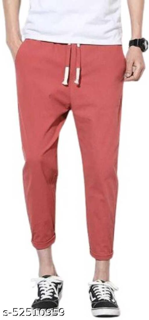 SPIRITED Fancy Glamarous Men Trousers Red