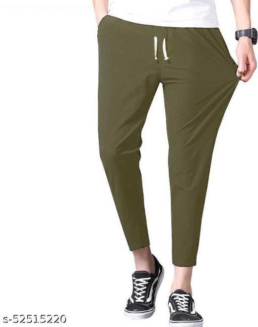 SB07 Fancy Glamarous Men Trousers Olive
