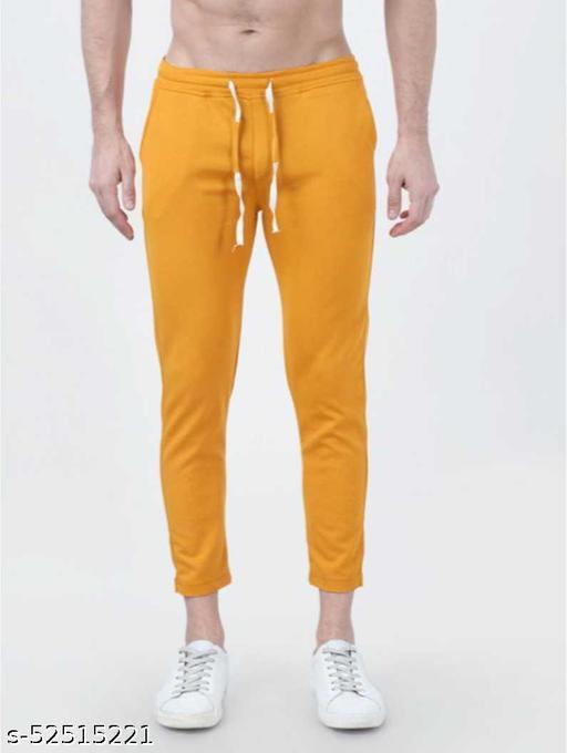 SB07 Fancy Glamarous Men Trousers Yellow