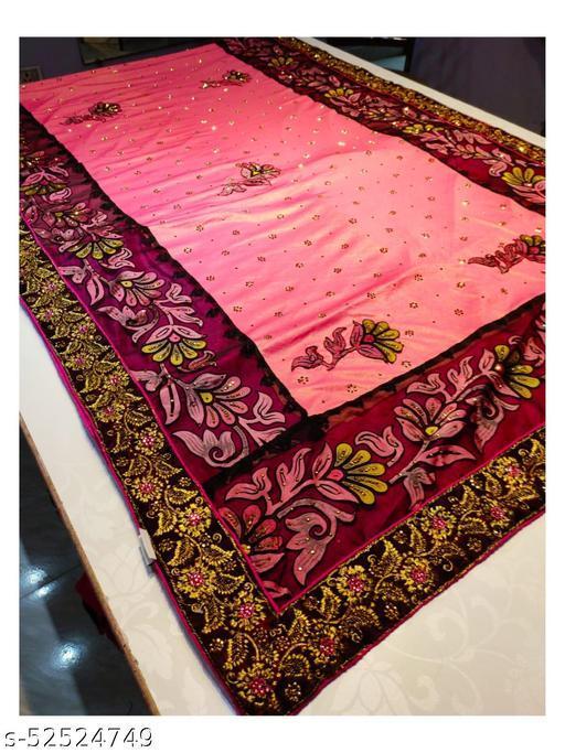 Fancy designer saree pure Feels Comfort Party Wear saree design no- 11013