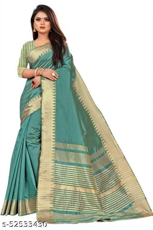 Collection Women's Hand Woven Kantha Stitch Assam Silk Saree