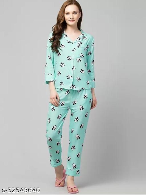 Eva Fashionable Women Nightsuits