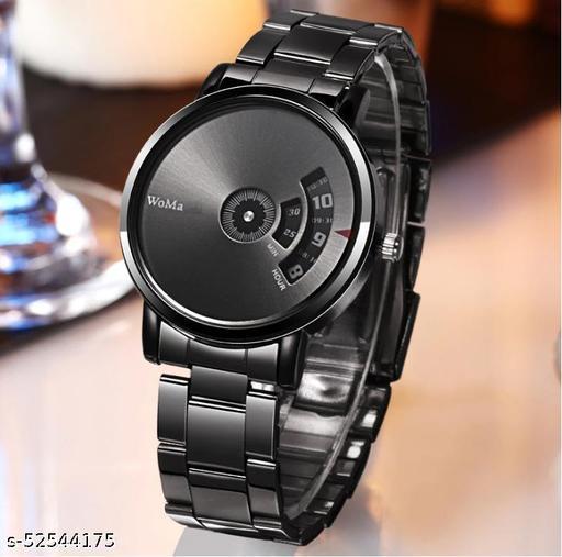 NEW BEST STYLISH PAIDU Black Watch for Men Hybrid Smartwatch Watch - For Men