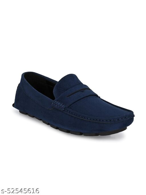 Guava men's Driving Loafers Shoes - Blue