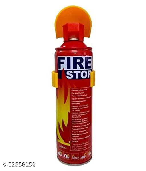 Firestop- Portable Aluminum Fire Extinguisher for All 4 Wheeler, Home & Work (1 Piece)