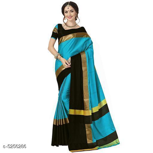 Deevena Structural Cotton Silk Sarees