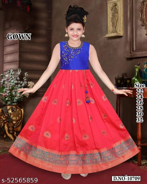 Anni Creations Trendy Ethnic Gown