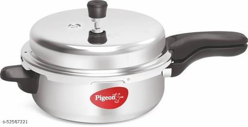 Pigeon Deluxe Senior Pan 6 L Pressure Cooker  (Aluminium)
