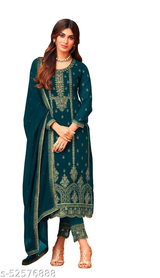 Alisha Sensational Semi-Stitched Suits
