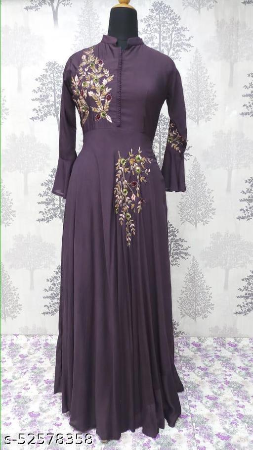 Comfy Graceful Women Gowns