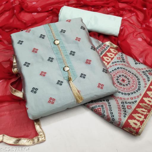 Jivika Attractive Semi-Stitched Suits