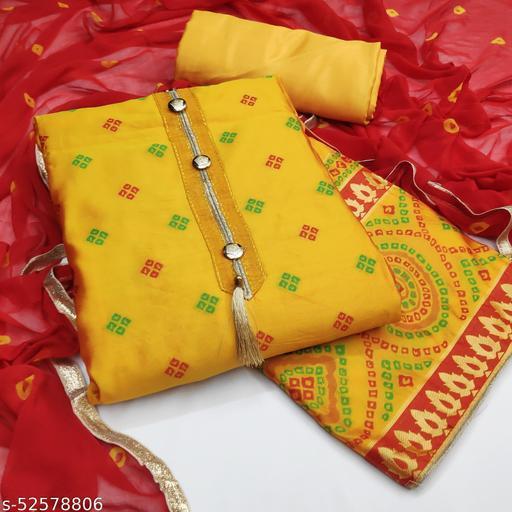 Jivika Graceful Semi-Stitched Suits