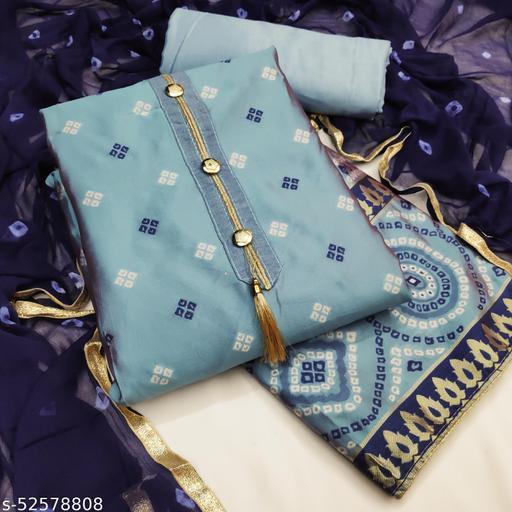 Abhisarika Ensemble Semi-Stitched Suits