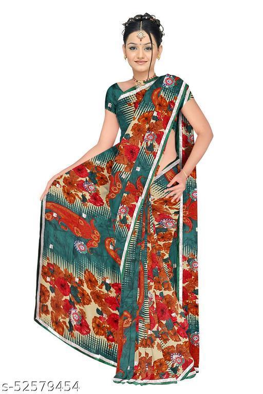 Makhanchor Designer Georgette Saree