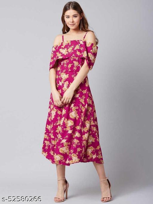 U&F Women Layered Dress