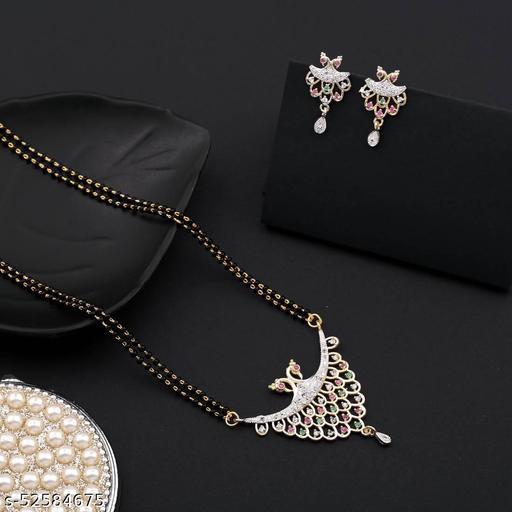 FANCY AND DESIGNER DIAMOND MANGASLUTRA