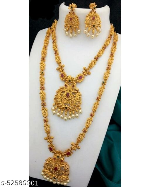 Gold plated twinkling jewellery set