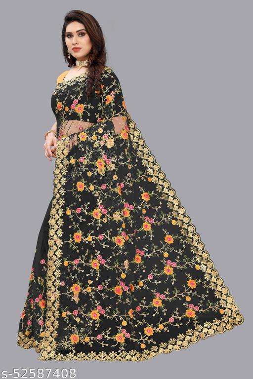 Bollywood designer sabyasachi collection saree For women - BLACK
