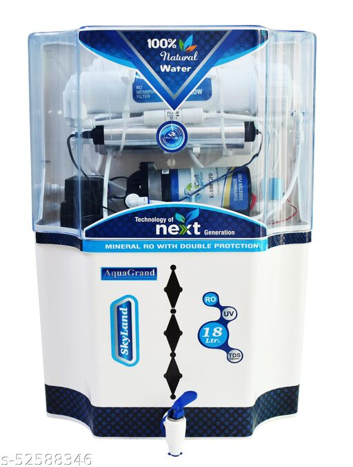 Aquagrand Skyland Model 18 L RO + UV + UF + TDS  Controller Water Purifier