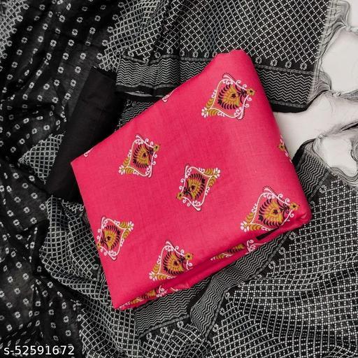 Trendy  Cotton Print Dress Materials