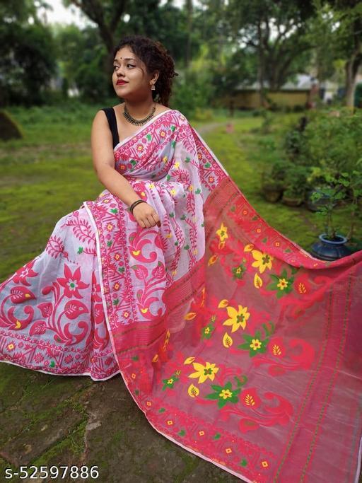 Dhakai jamdani saree
