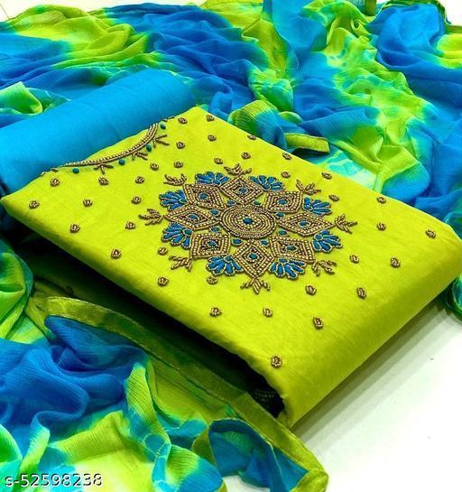 Aakarsha Ensemble Semi-Stitched Suits