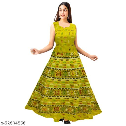 Kurti Designer Anarkali Kurti for Women and Girls Printed  Long Anarkali Kurta