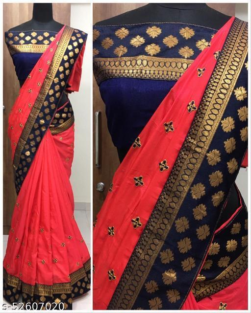 Beautiful Two Tone Soft Silk Saree(5 STAR)