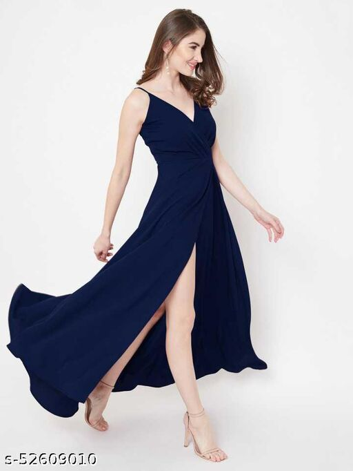 Ekta Enterprise Fancy Bollywood Creap Gown