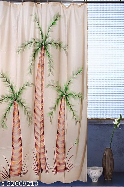 CASA-NEST PVC Waterproof PVC Shower Curtain,Tree Design 7 feet (1 Pcs),Size 54X84 INCH,Bathroom Curtain