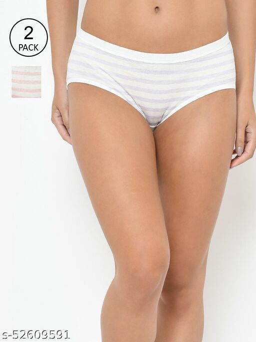 PARKHA SOLID SEAMLESS PANTIES FOR WOMEN