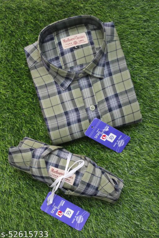 True looks Men's Premium Cotton Casual Full Sleeve Shirt
